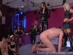 Britain Dominatrix Party Dommes