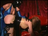 Predominant Lezdom Spanking at Crimson Mansion