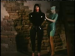 Lesbian BDSM at Crimson Mansion