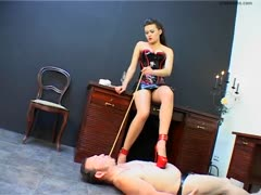 Trample Slave Sharecropping in Red Heels