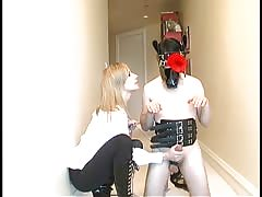 Maitresse Madeline in absolute control with her slave