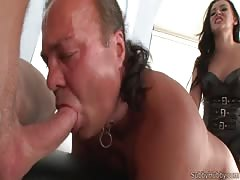 Suck that cock while I fuck your ass